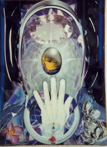 Urano - collage laura bottagisio