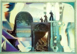 Gemelli - collage laura bottagisio