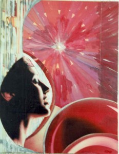 luce in me - collage- laura bottagisio