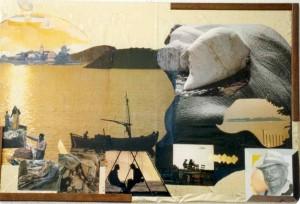 Scorpione- collage laura bottagisio