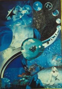 Vergine - collage laura bottagisio