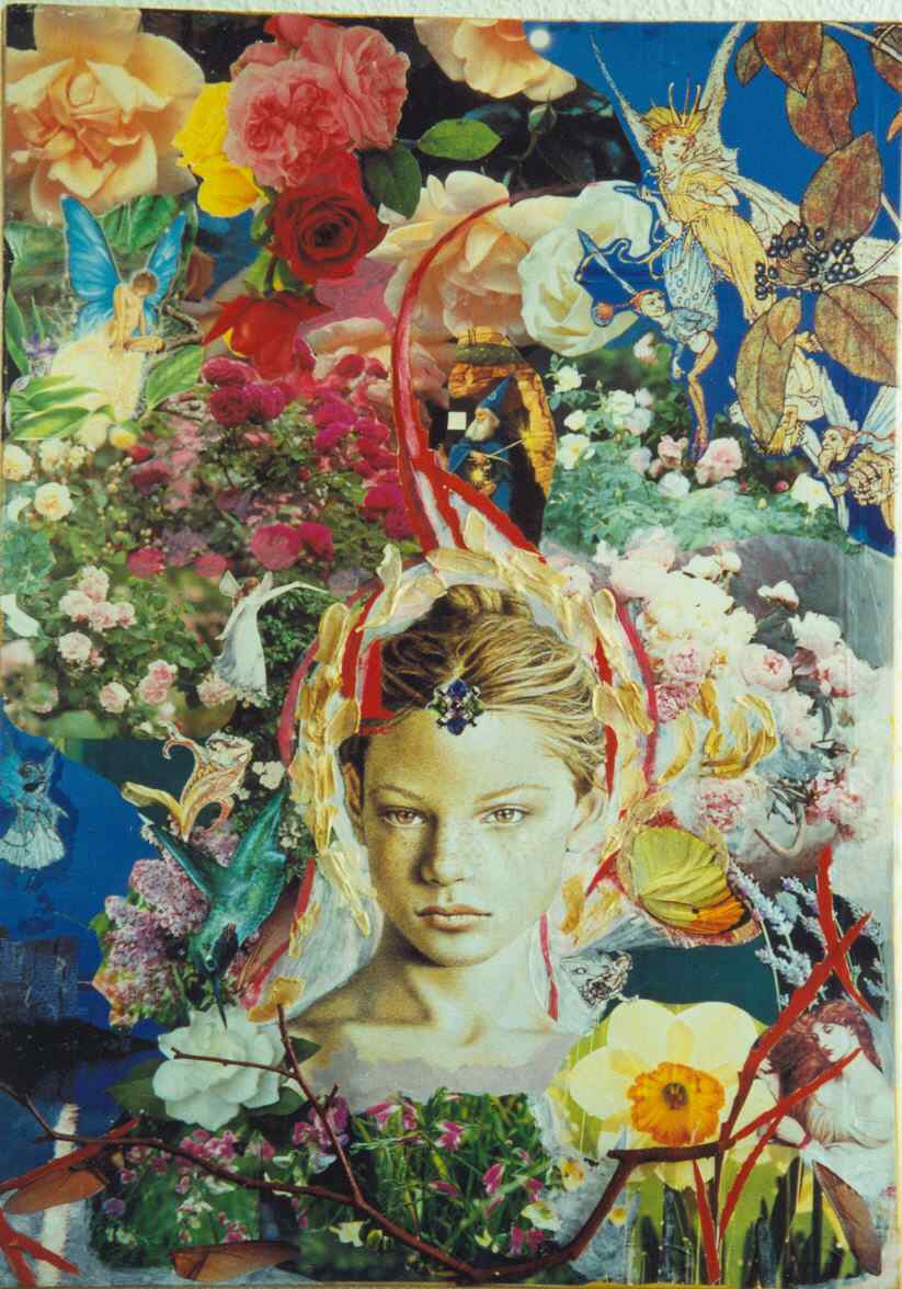 la Primavera - collage - Laura Bottagisio