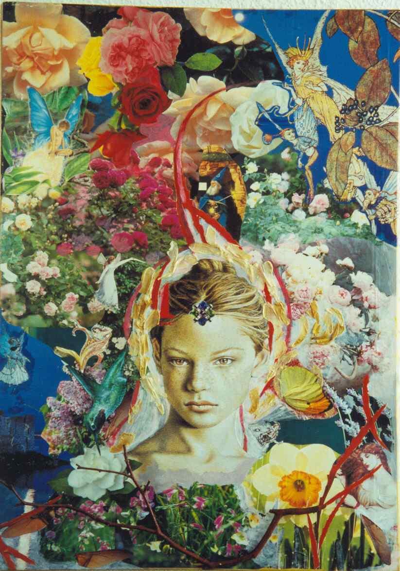la Primavera - collage - Laura Bottagisio