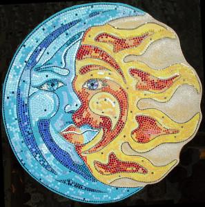 Mosaico Sole Luna